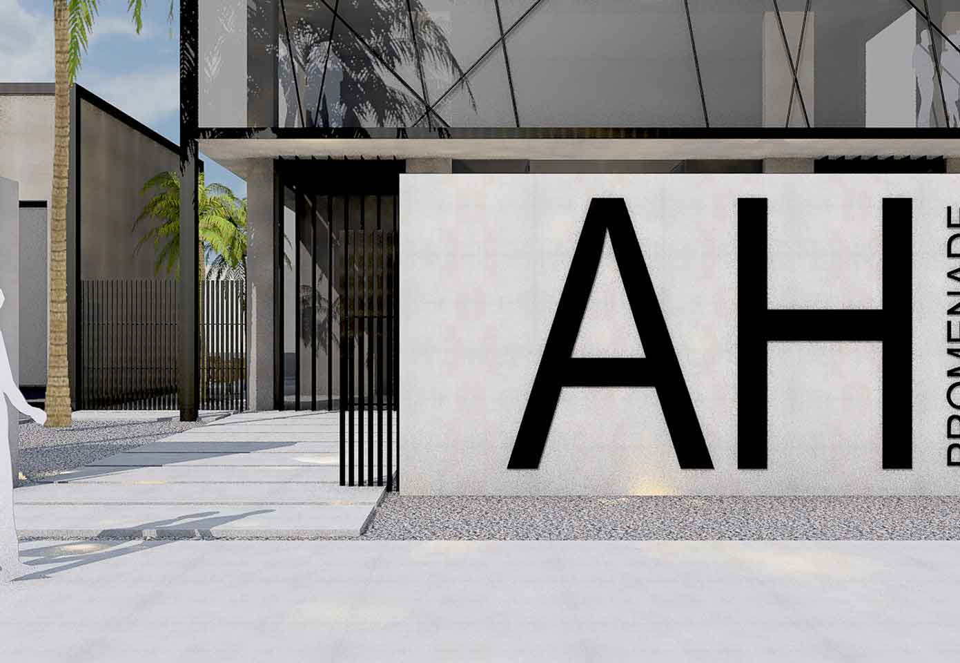 A luxury shopping center for the exclusive community of airport hills in Accra ghana by ikies architects