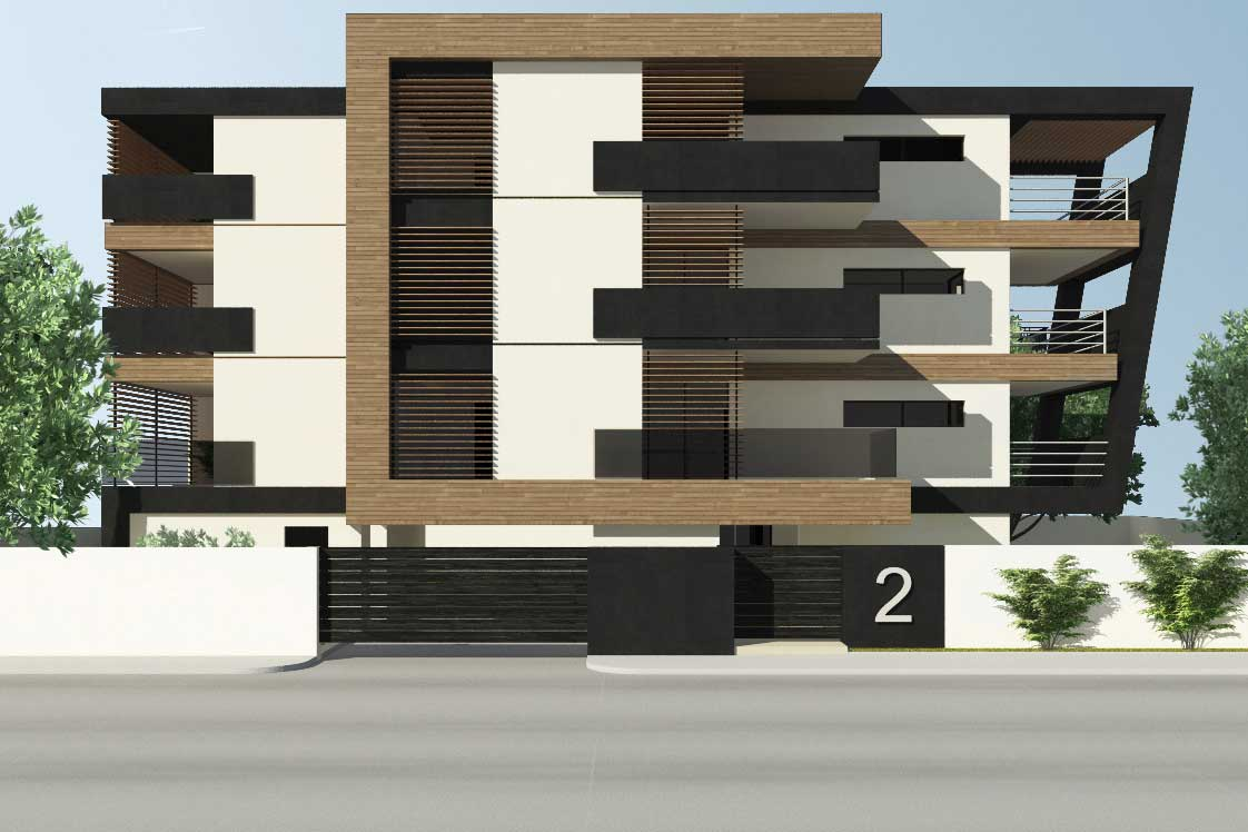 high end apartment building in alimos athens greece by ikies architects