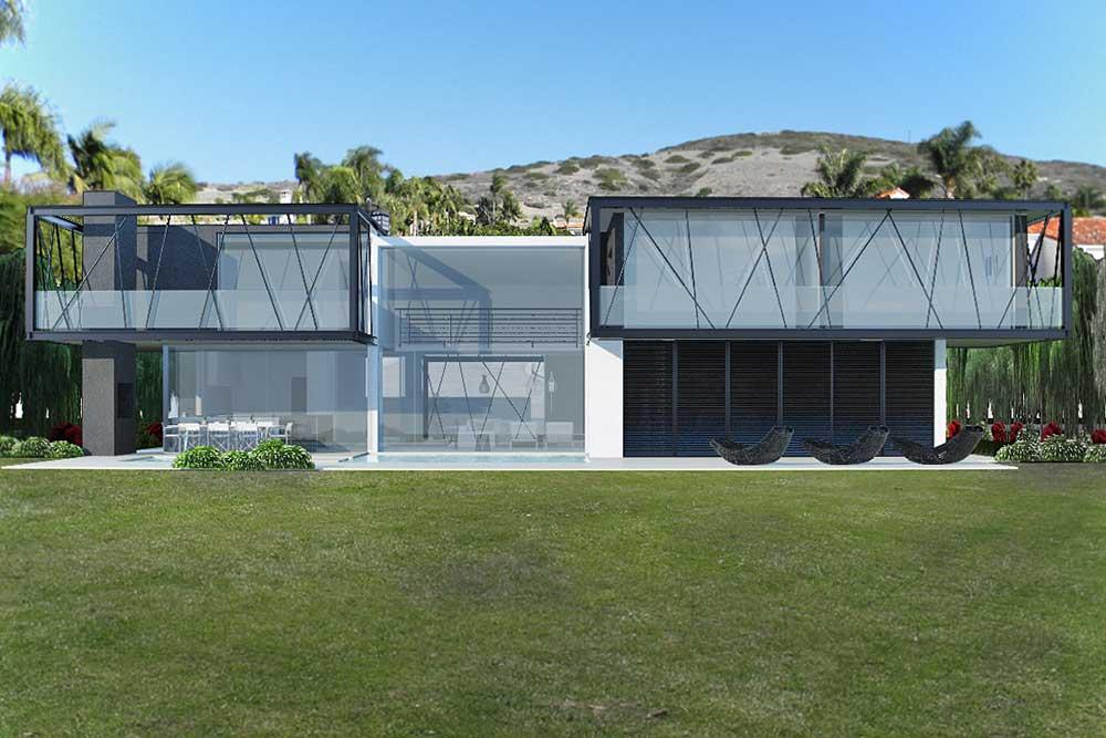 Luxury high end residence in laguna beach california usa