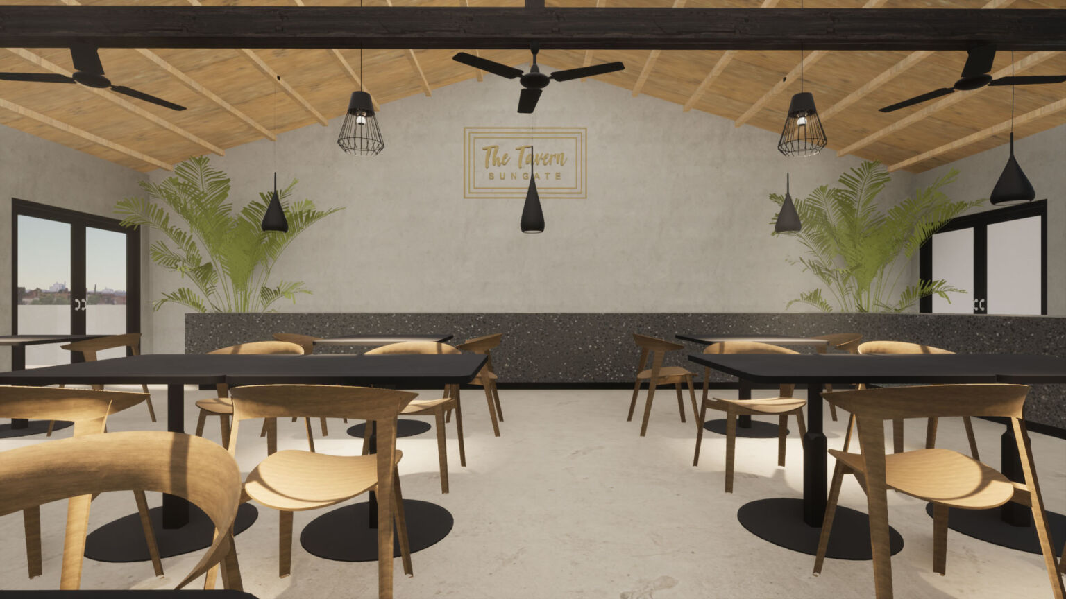 A restaurant for the all-excluse hotel of Sungate on the island of Corfu in Greece by ikies architects
